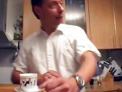 Hot German MILF acquires taken in the kitchen