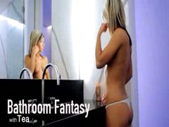 Baths fantasy of unbelievable model