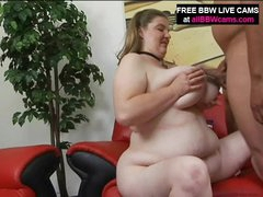 Plumper Gal Receives It From Palpitating Guy Part 2
