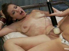 Audrey Rose gets group-fucked by perverted nurse Maitresse Madeline