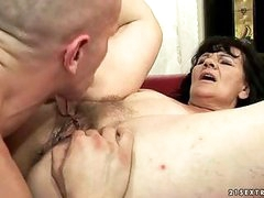 Ugly grandma getting drilled hard by reno78