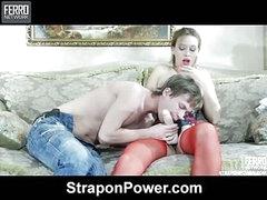 Irene&Silvester strapon humiliate video