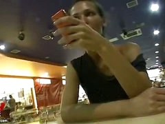 Hot sex in public place
