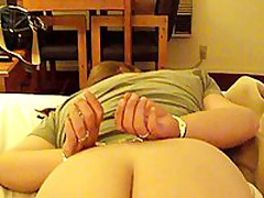 This chunky older is ready to go some lengths to spice up her marital sex life. In this stolen homemade video, that babe is featured wearing handcuffs face down on their bed, during the time that her husband gently and carefully lubes her asshole, hidden well between her immense ass cheeks.