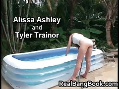 Alissa Ashley & Tyler Trainor Cute Lesbian babes