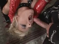 Kinky latex threesome with fantastic doxies